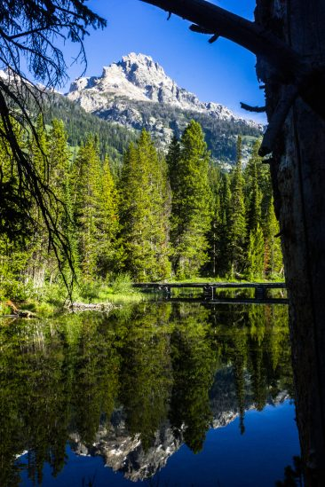 Bradley Lake and Teewinot