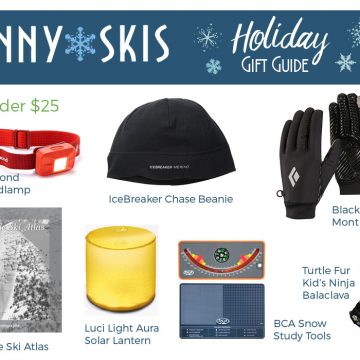 Skinny Skis Holiday Gift Guide 2016